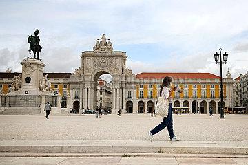 PORTUGAL-LISBON-COVID-19-ISOLATION