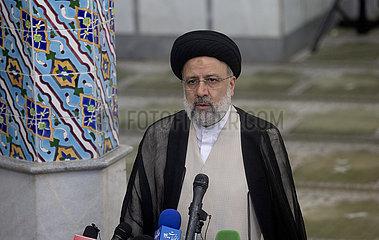 IRAN-TEHERAN-PRÄSIDENTSCHAFTSWAHL-RAISI-WIN
