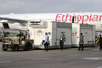 ETHIOPIA-CHINA-RED CROSS SOCIETY-COVID-19 VACCINE-HANDOVER