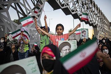 IRAN-TEHRAN-PRESIDENTIAL ELECTION-CELEBRATION