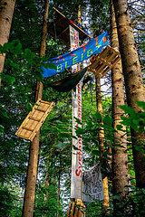 Erneute Waldbesetzung im Forst Kasten