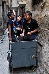 MIDEAST-NABLUS-CHILDREN-WORLD REFUGEE DAY