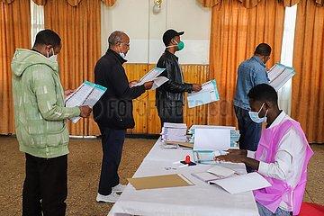 ETHIOPIA-ADDIS ABABA-GENERAL ELECTIONS-VOTING