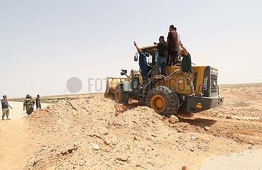 LIBYEN-SIRTE-KUSTENSTRASSE-WIEDERERöFFNUNG
