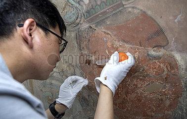 CHINA-SHANXI-Yongle PALASTES-Restoration (CN)