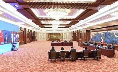 CHINA Beijing-LI-Zhanshu SERBIEN-Talk (CN)