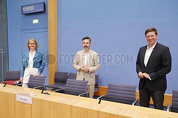 Bundespressekonferenz zum Thema: Abschlussbericht des Untersuchungsausschusses Wirecard