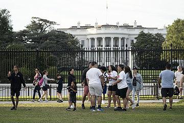 US-WASHINGTON-  D. C.-Impfrate