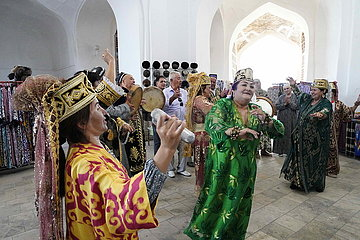 UZBEKISTAN-BUKHARA-TOURISM
