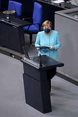 Angela Merkel - Bundestag