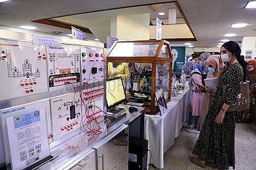 IRAK-BAGDAD-SCIENTIFIC PRODUCTS-AUSSTELLUNG