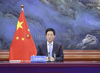CHINA-BEIJING-LI ZHANSHU-KIRIBATI-TALKS (CN)
