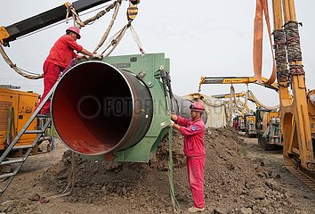 CHINA-HEBEI-TANGSHAN-LNG INSTALLATION PIPELINE (CN)