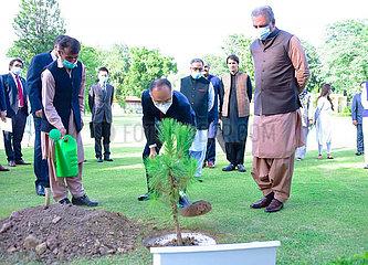 PAKISTAN-CHINA-DIPLOMATIC TIES-70TH ANNIVERSARY-TREE PLANTING