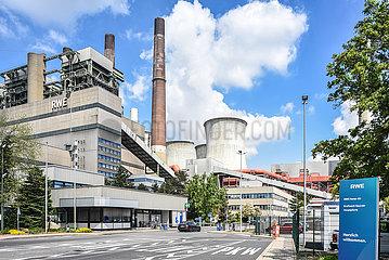 Pforte Kohlekraftwerk Neurath