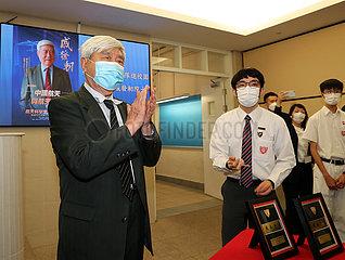 CHINA-HONG KONG-SPACE SCIENTISTS Studenten-WECHSELWIRKUNG (CN)