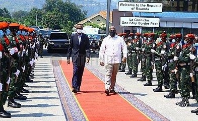 DR KONGO-GOMA PRÄSIDENT-RWANDA PRÄSIDENT-MEETING
