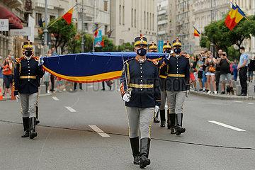 RUMÄNIEN-BUKAREST-NATIONAL FLAG TAG
