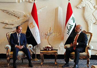 IRAQ-BAGHDAD-JORDAN-EGYPT-DIPLOMACY