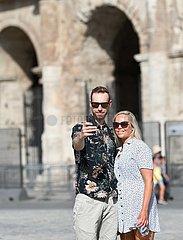 ITALY-ROME-ANTI-CORONAVIRUS RULES-LOWEST LEVEL