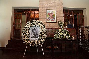 ZAMBIA-LUSAKA-Kenneth Kaunda-CHINA-Kondolenz