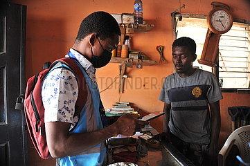 GHANA-ACCRA-Wohnungs- und VOLKSZÄHLUNG