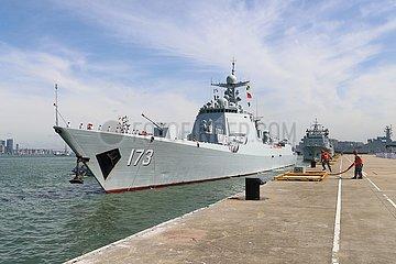 CHINA-ZHANJIANG-Flotte-RETURN (CN)