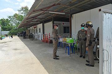 THAILAND-BANGKOK-COVID-19-BESCHRÄNKUNGEN