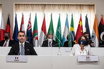 ITALIEN-MATERA-G20-MINISTER-AUSSEN- UND ENTWICKLUNG-MEETING