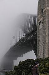 AUSTRALIEN-SYDNEY-FOG