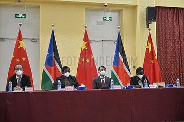 SOUTH SUDAN-JUBA-CHINA-SMES-WORKSHOP