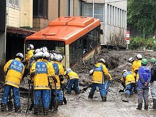 JAPAN-SHIZUOKA-Mudslide-RESCUE