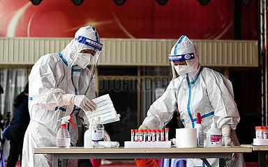 CHINA-YUNNAN-RUILI-COVID-19-Test (CN)