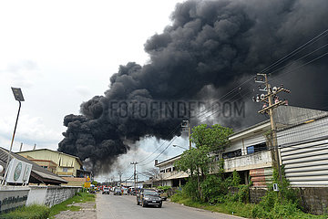 THAILAND-CHEMICAL FACTORY-EXPLOSION