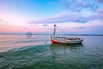 Fischerboot auf der Ostsee