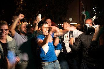 Italiener feiern Europameisterschaft in München
