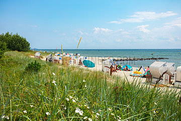 Strand von Sierksdorf in der Lübecker Bucht