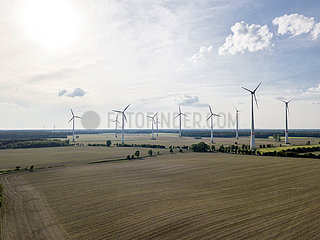 Windpark in Brandenburg
