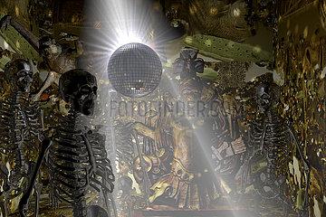 CGI Visualisierung: Todes Disco