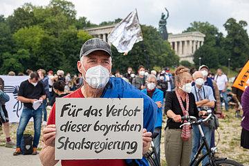 Protest gegen das Polizeiaufgabengesetz ( PAG ) in München