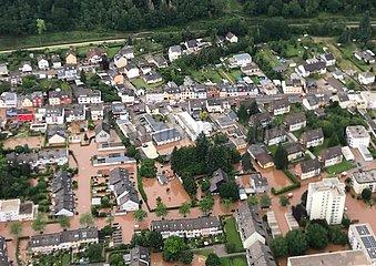 Hochwasser in Rheinland-Pfalz im Juli 2021