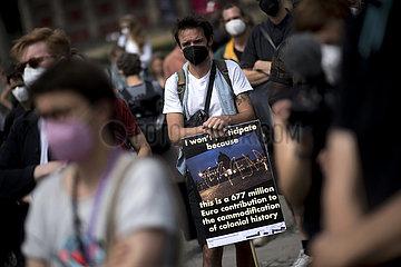 Protest Humboldt Forum