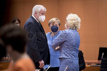Horst Seehofer  Angela Merkel  Kabinett