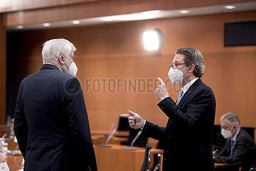 Horst Seehofer  Andreas Scheuer  Kabinett