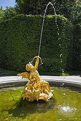 Schlosspark von Schloss Linderhof