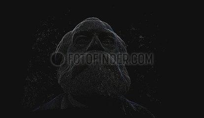 CGI Visualisierung: Karl Marx