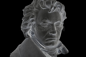 CGI Visualisierung: Ludwig van Beethoven