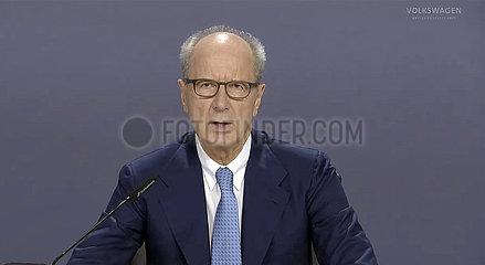 Volkswagen Hauptversammlung - Screenshot