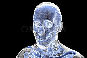 CGI Visualisierung: Tod  death