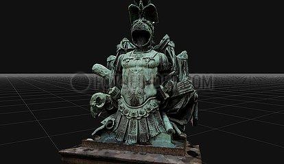 CGI Visualisierung: Ruestung  Invalidenfriedhof